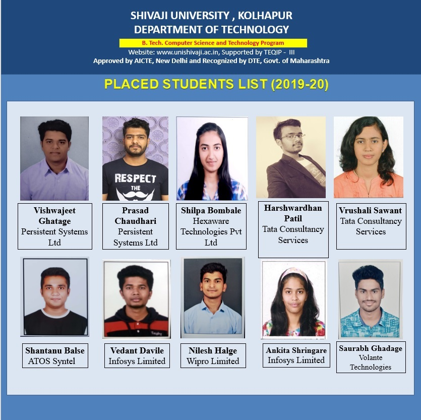 CST Placements 2019-2020